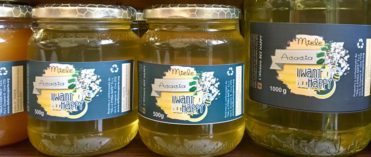 Miele d'acacia di qualità a Ciriè