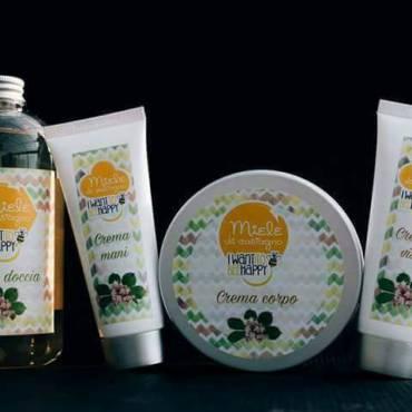 I nostri prodotti cosmetici al miele.
