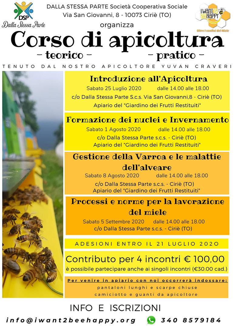 Corso apicultura 2020
